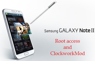 How To Root Samsung Galaxy Note 2 GT-N7100 And Flash ClockworkMod Recovery On It