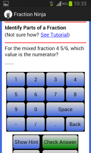 Fraction Ninja Question