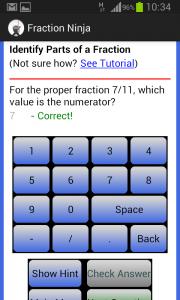 Fraction Ninja Answer