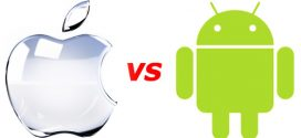 Number of available applications in Google Play vs Apple AppStore