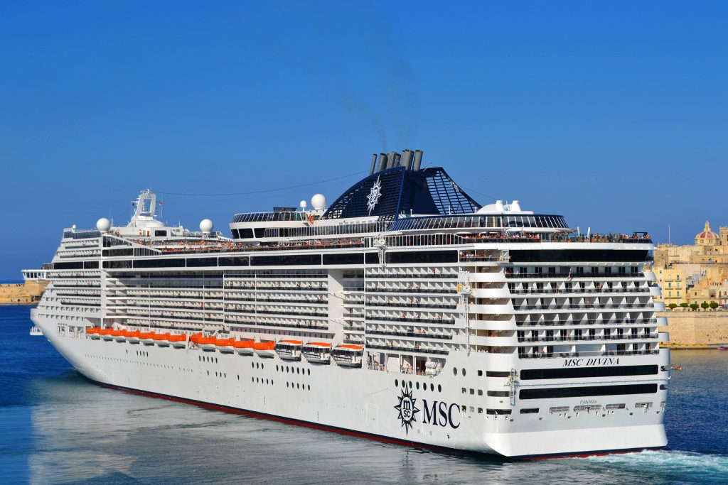 MSC Divina in Malta 2 1024x683 - Web development on Android