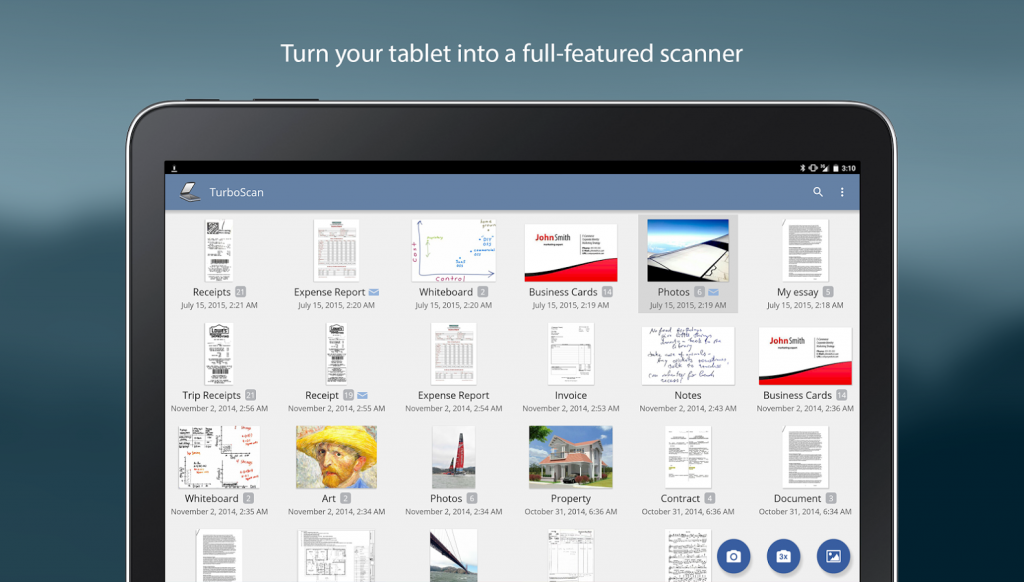 Best document scanner app ive used so far androidized you can find turboscan for free on play store reheart Image collections