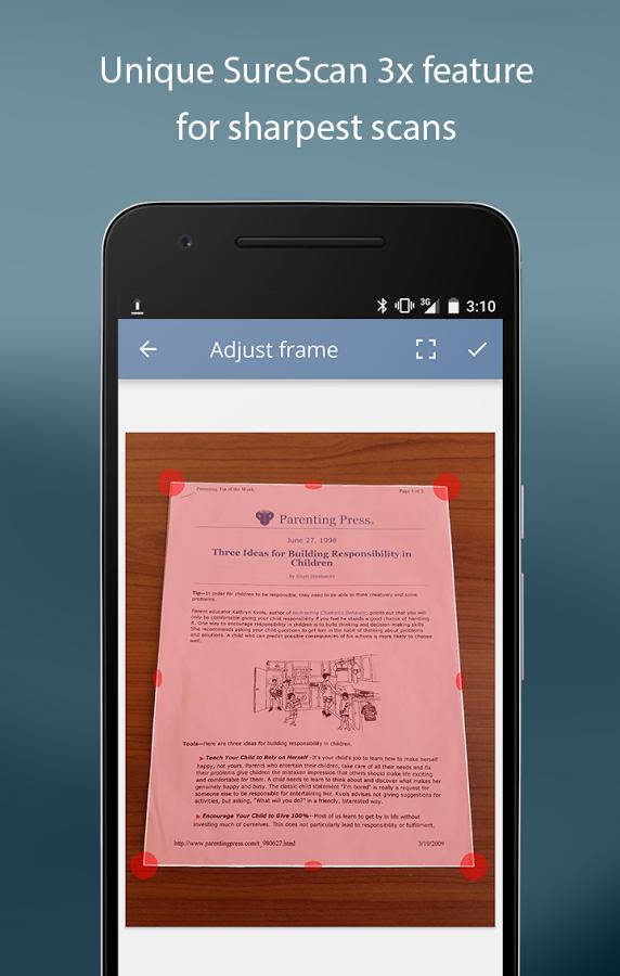 turboscan interface - Best document scanner app I've used so far