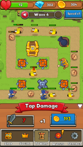 Screenshot 2017 09 08 14 38 15 169x300 - Idle TD: Unique concept Tower Defense game