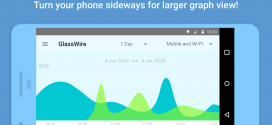 Track your data and Wifi usage with GlassWire