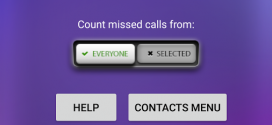 Change Profile on Missed Calls application