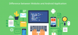 Difference between Website and Android Application